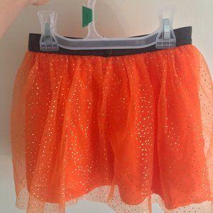 Toddler Mesh Halloween Skirt
